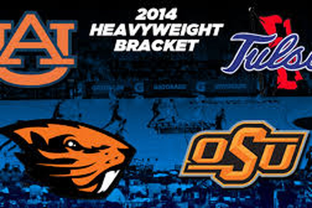 Oregon St. meets Oklahoma St. tonight at the MGM Grand Hotel in Las Vegas.
