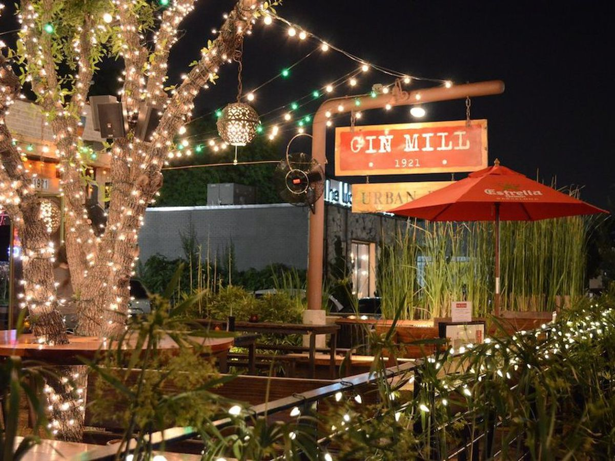 The Gin Mill on Henderson Avenue offers sliders a-plenty.
