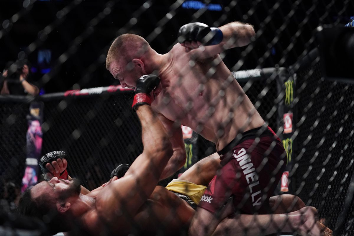 MMA: UFC Fight Night-Vancouver-Pereira vs Connelly
