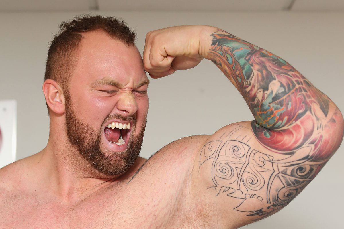 Expo Fitness Mexico 2015 With Hafthor Julius Bjornsson - Press Conference