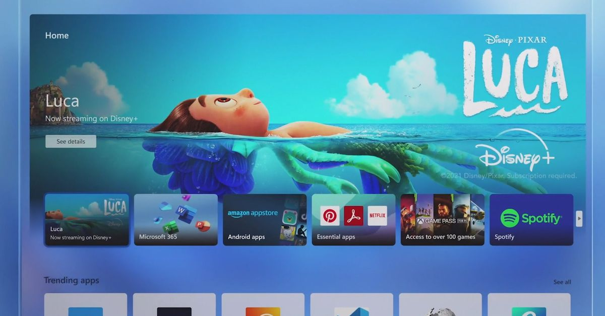 Microsoft reveals the new Microsoft Store for Windows 11, and it has Android apps, too