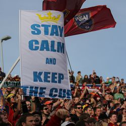 Stay Calm and Keep the Cup