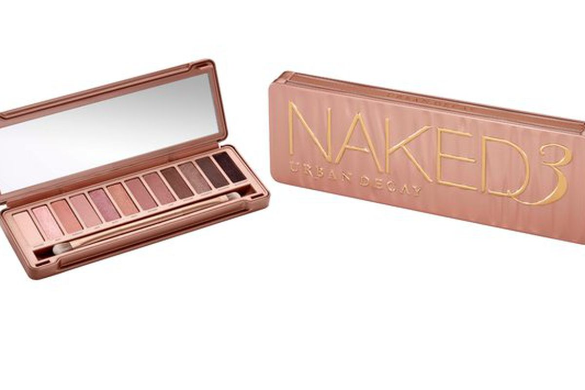 """Image via <a href=""""http://nymag.com/thecut/2013/11/urban-decays-naked-3-palette-is-sold-out.html"""">The Cut</a>."""