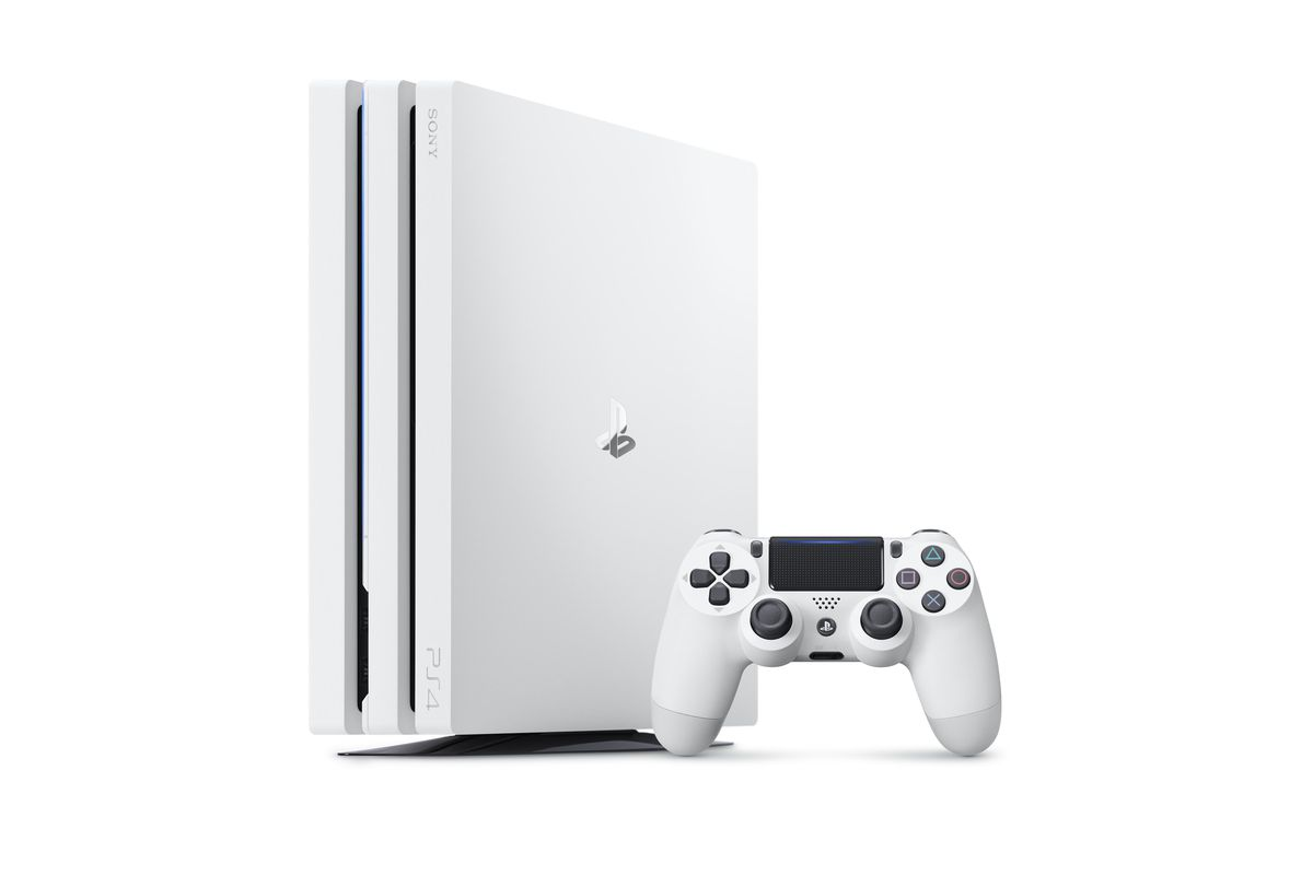 Image result for ps4 pro white