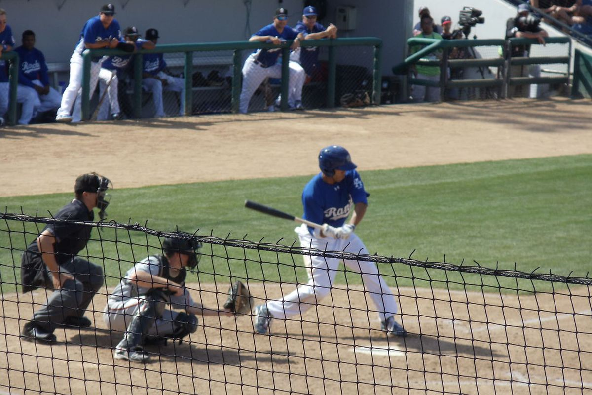 BCG went yard for the Desert Dogs on Saturday