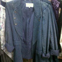 $120 lightweight denim blazer