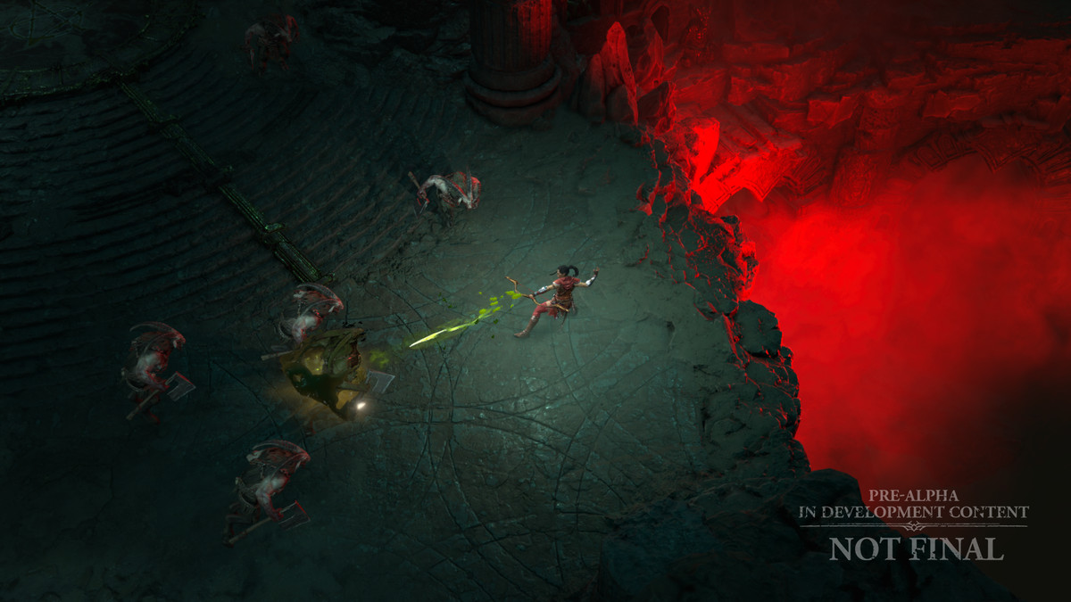 The Rogue uses poison arrows in Diablo 4