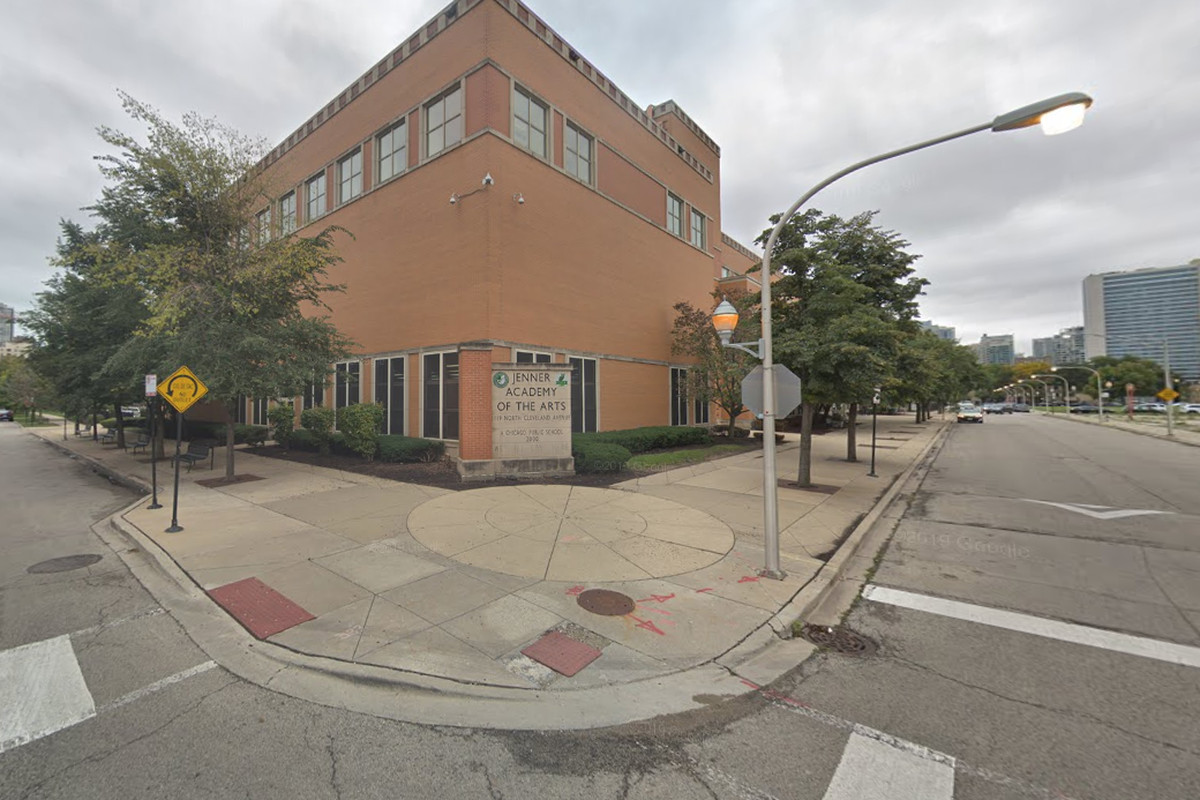 Multiple students were injured by pepper spray, June 3, 2019, at the Ogden International School of Chicago's Jenner Campus.