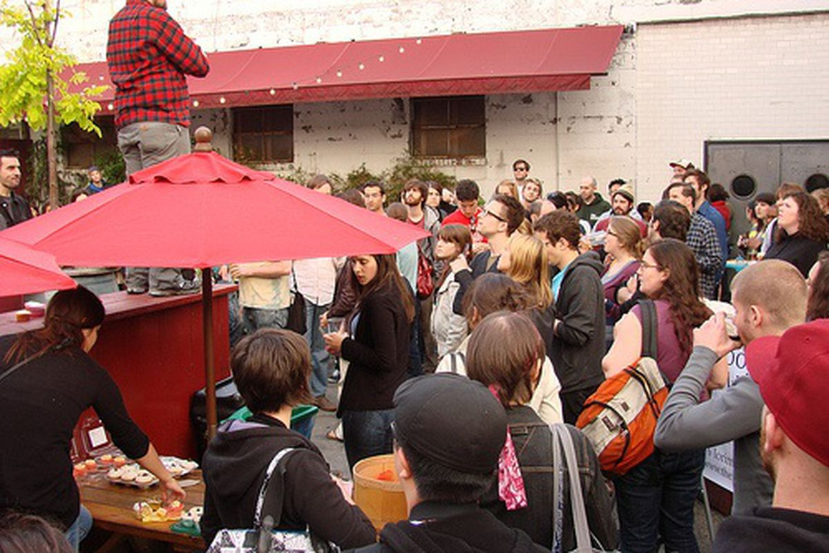 Scene at Brooklyn's 3rd Annual Cupcake Cook-Off
