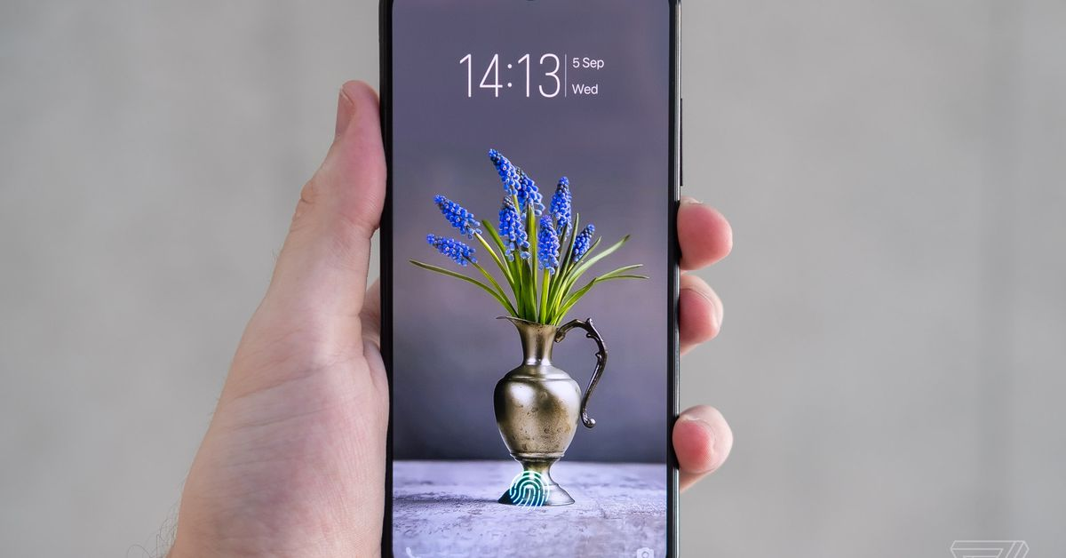 Vivo announces V11 with in-display fingerprint sensor and yet another notch shape.