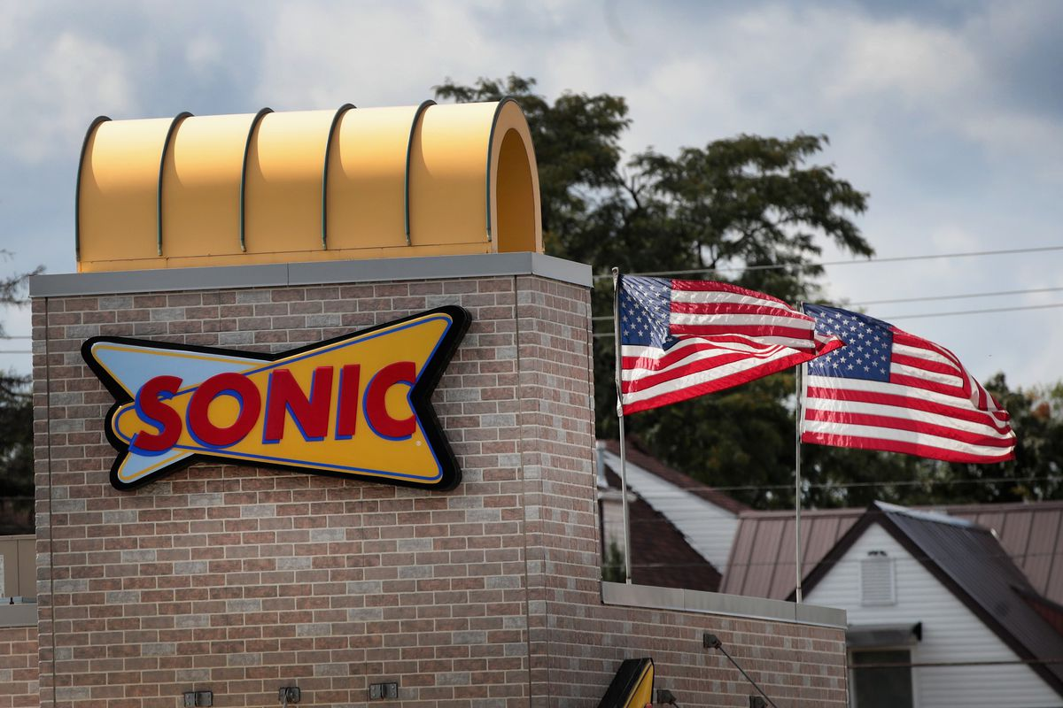 A Sonic Drive-in
