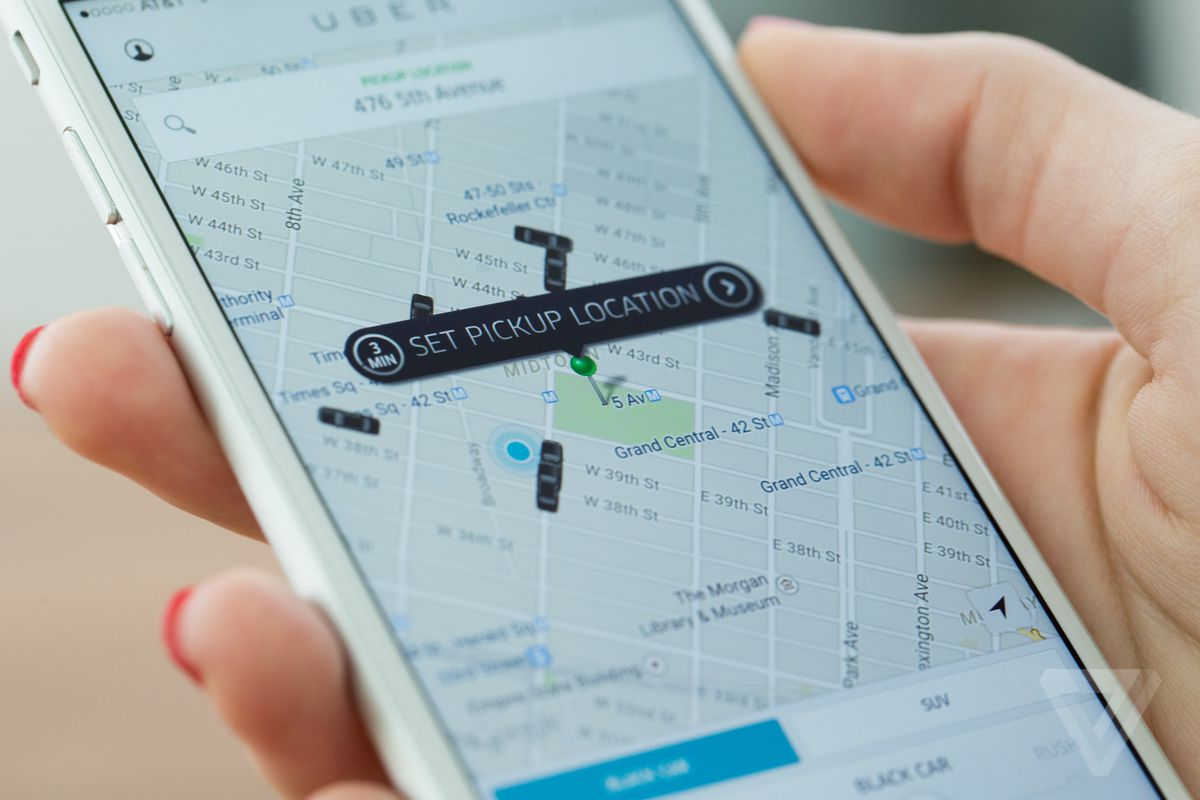 how to add uber to google maps app