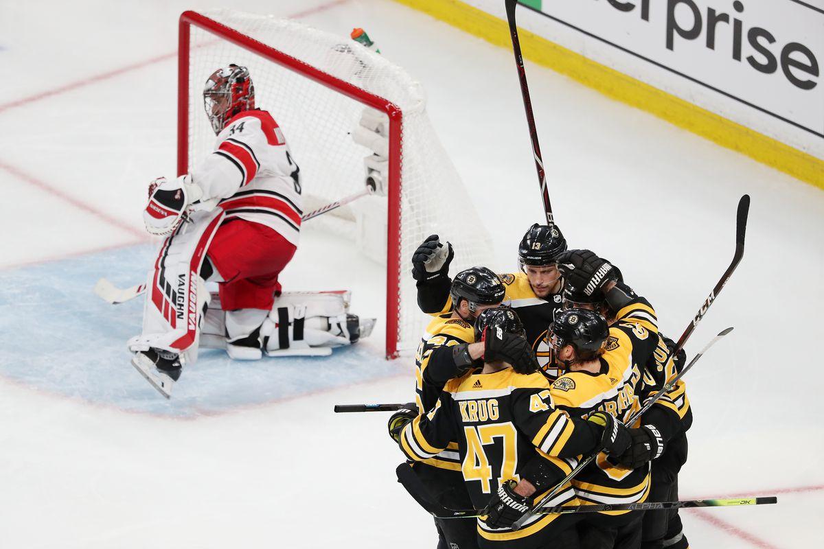 Carolina Hurricanes v Boston Bruins - Game One