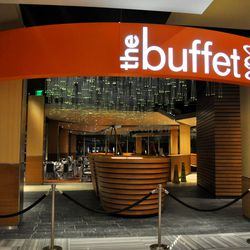 The entrance to the buffet.