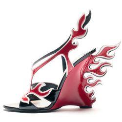 Prada's fire heels