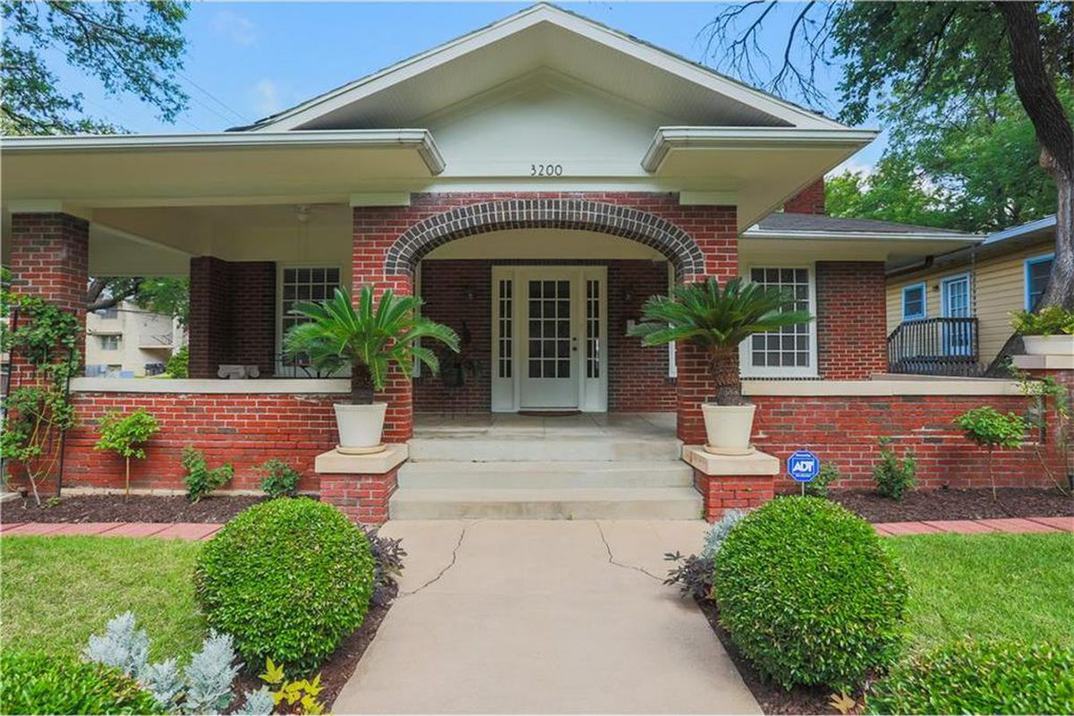 1930 brick home with large porch