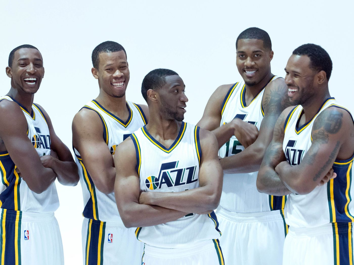 Utah Jazz Need To Keep Their 2010 Family Together Derrick Favors Gordon Hayward Trevor Booker And Jeremy Evans The Downbeat 1604 Slc Dunk