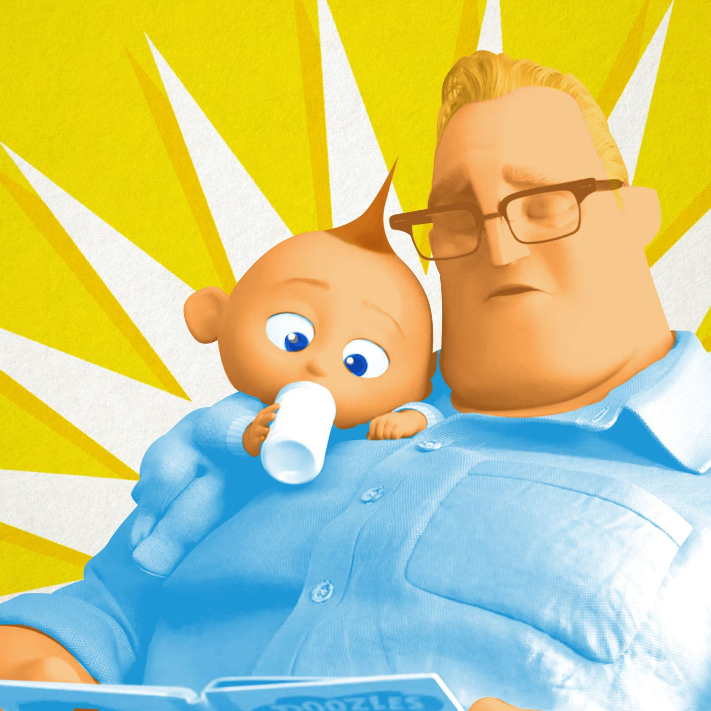 6d024689 Parent Corner: How Good of a Dad Is Mr. Incredible in 'Incredibles 2'? -  The Ringer
