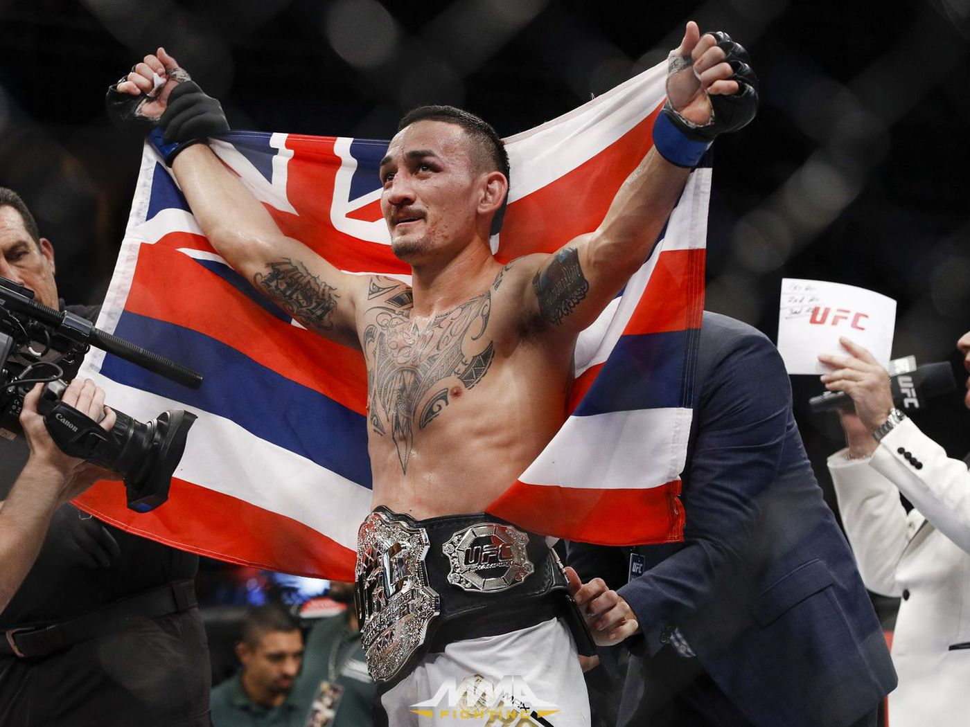Ufc Releases Official Poster For Ufc 222 Holloway Vs Edgar Mma Fighting