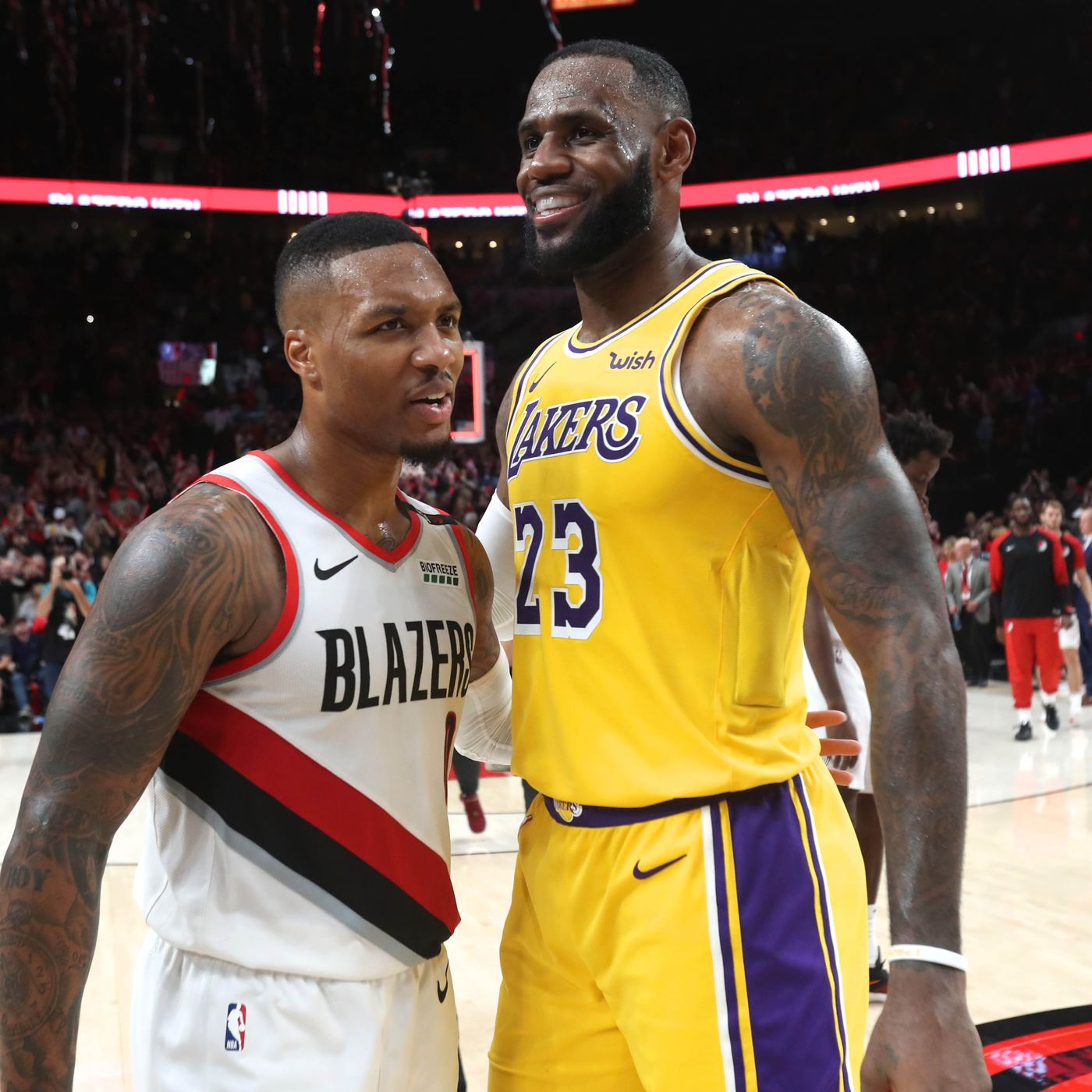55bf64ecb179 LeBron James excited for Staples Center debut