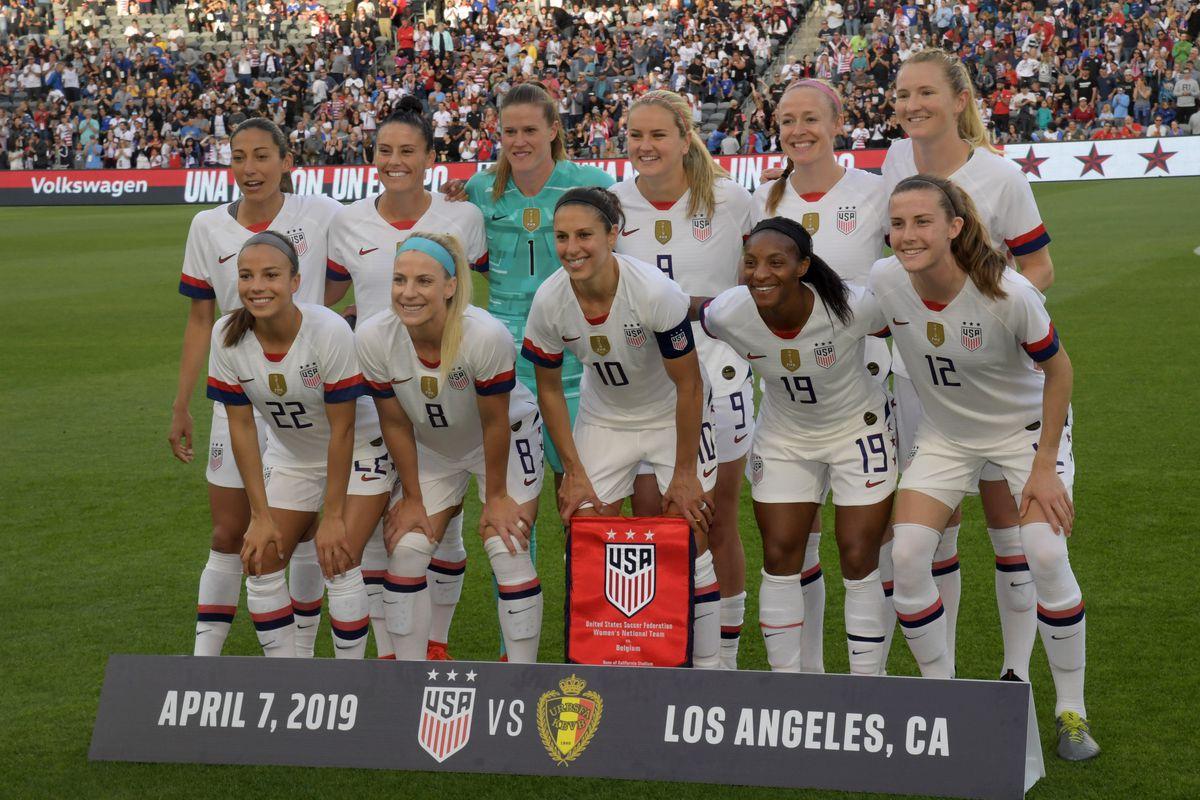 Soccer: International Friendly Wonens Soccer-Belgium at USA