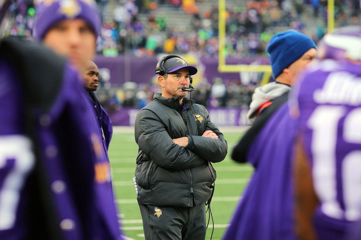Mike Zimmer (GettyImages)