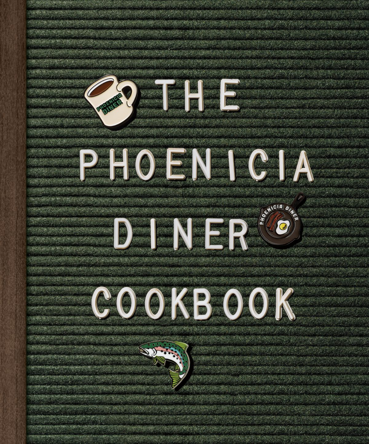 The cover of the Phoenicia Diner Cookbook