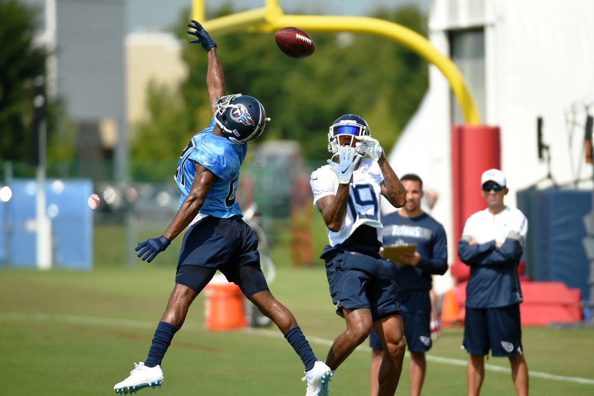 62bf181c Titans Training Camp: Rounding up the news from practice number ten ...
