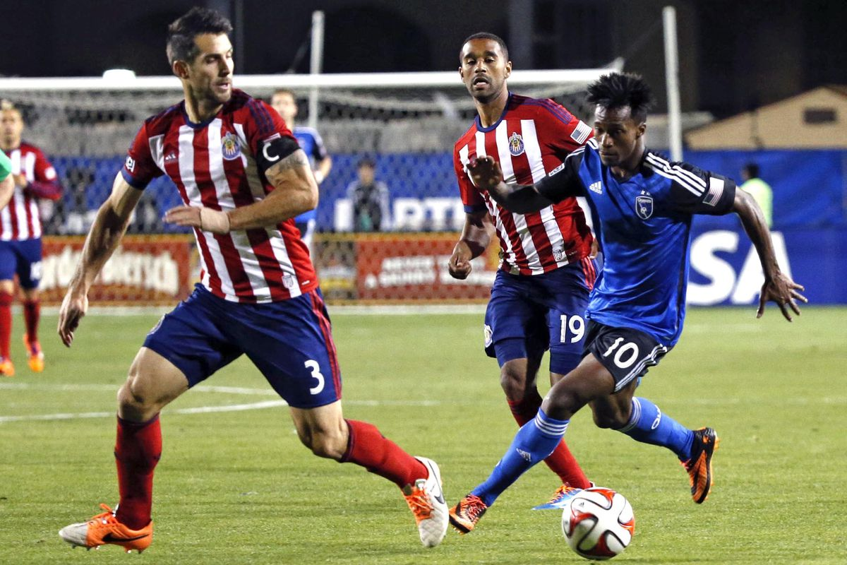Djalo: Gave Chivas a hard time after entering the game.