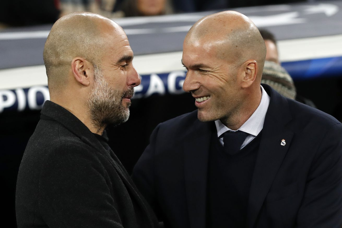Pep Guardiola on Zinedine Zidane: ?When you think that you?ve got one of his tactical plans covered he?ll hit you with another?