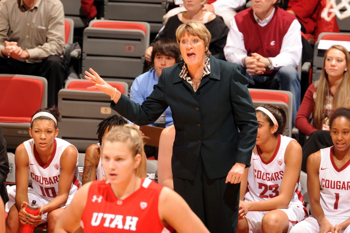 Women's basketball head coach June Daugherty has the Cougs back in the post season