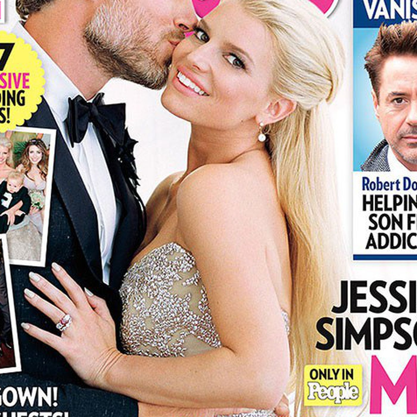 Heres Jessica Simpsons Wedding Dress If You Care Racked