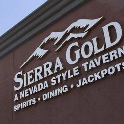 The sign outside Sierra Gold.