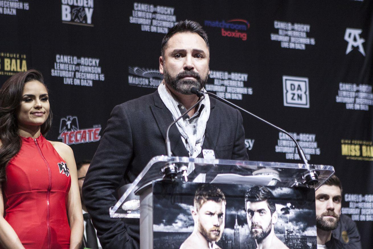 Canelo Alvarez v Rocky Fielding - Press Conference