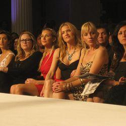 From left, AnnaLynne McCord, Jamie-Lynn Sigler, someone from ANTM, ?, Stephanie Pratt