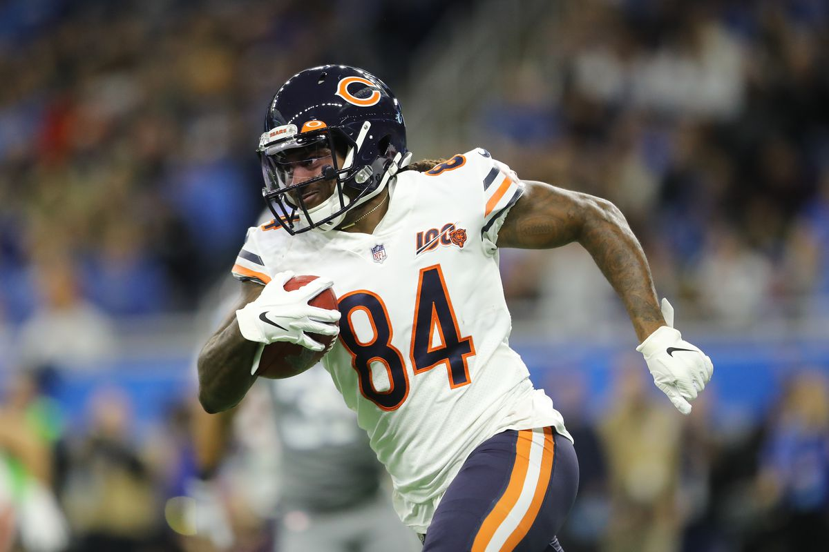 Bears kick returner/wide receiver Cordarrelle Patterson caught 11 passes for 83 yards and had 17 carries for 103 yards on offense last season. Patterson is a running back on offense this season.
