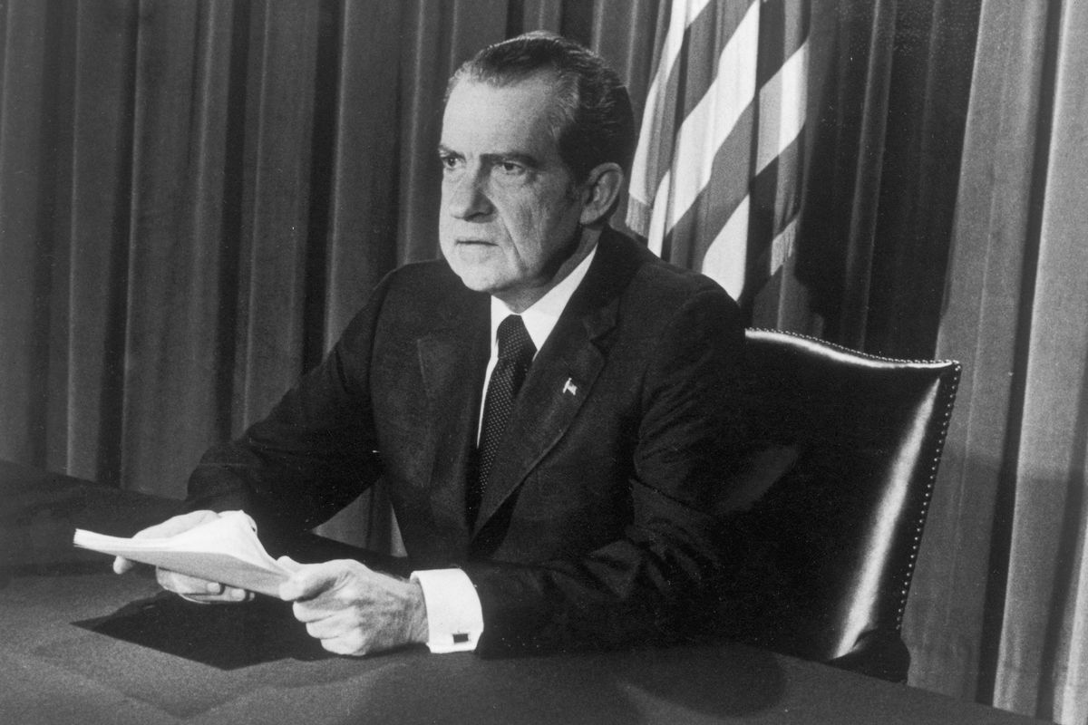 President Richard Nixon launched the war on drugs, but only after decades  of build-up. Hulton Archive via Getty Images