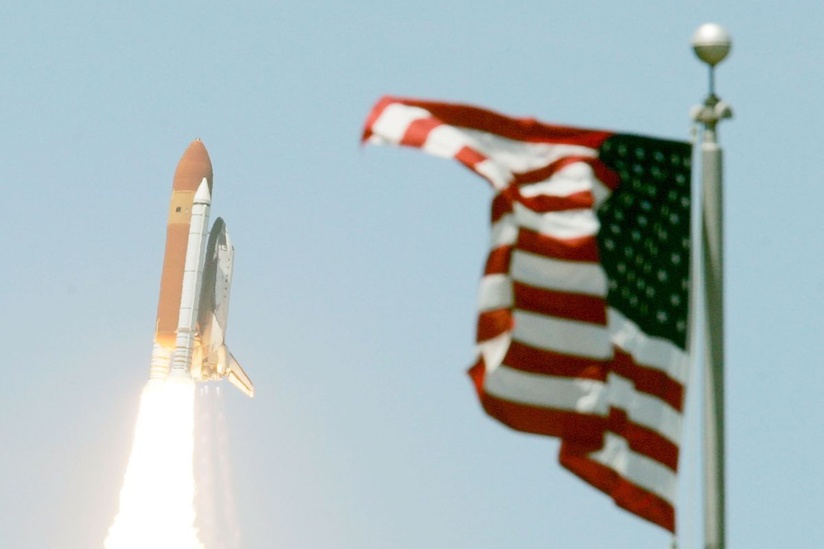 Space Shuttle Discovery Returns To Space For A New Mission