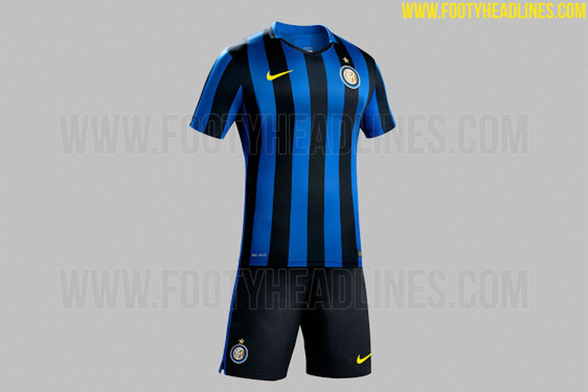 hot sale online a9e72 42be7 New Inter Milan kit leaked for 2016-17 - Serpents of Madonnina