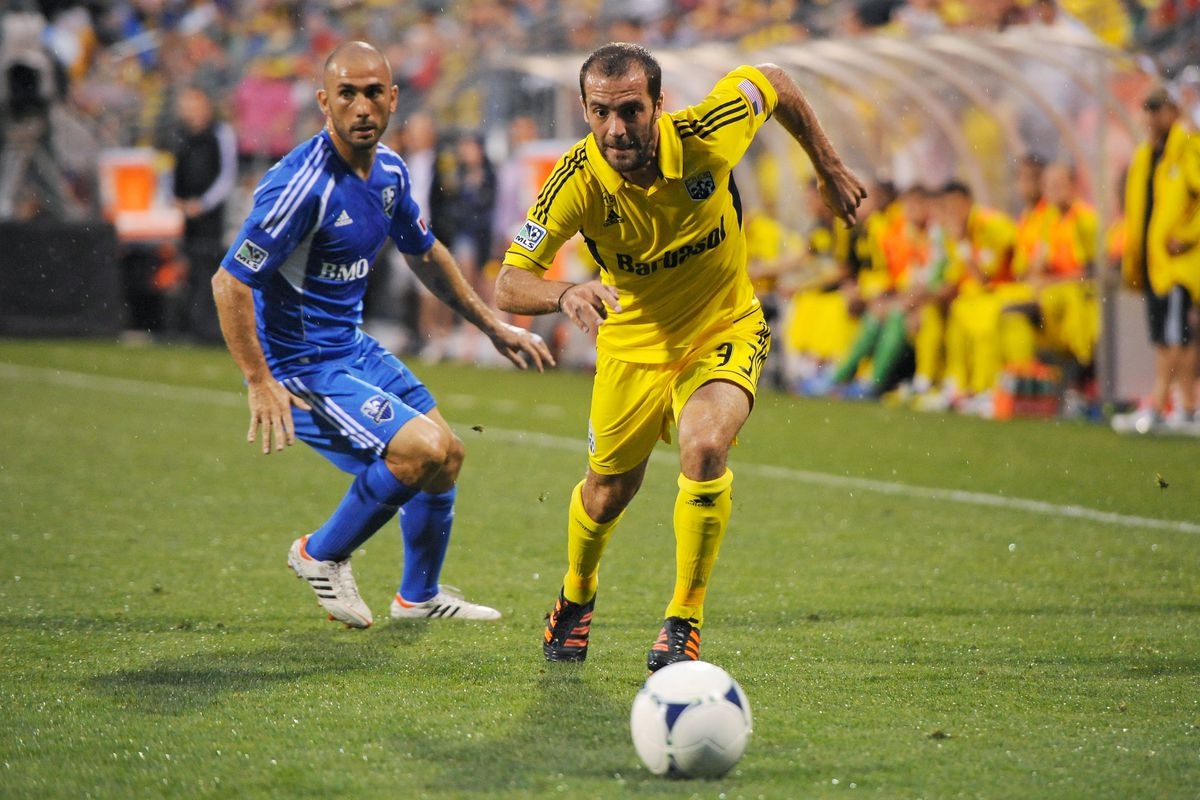 Federico Higuain ,a thorn in the Montreal Impact side, among many in the Eastern Conference