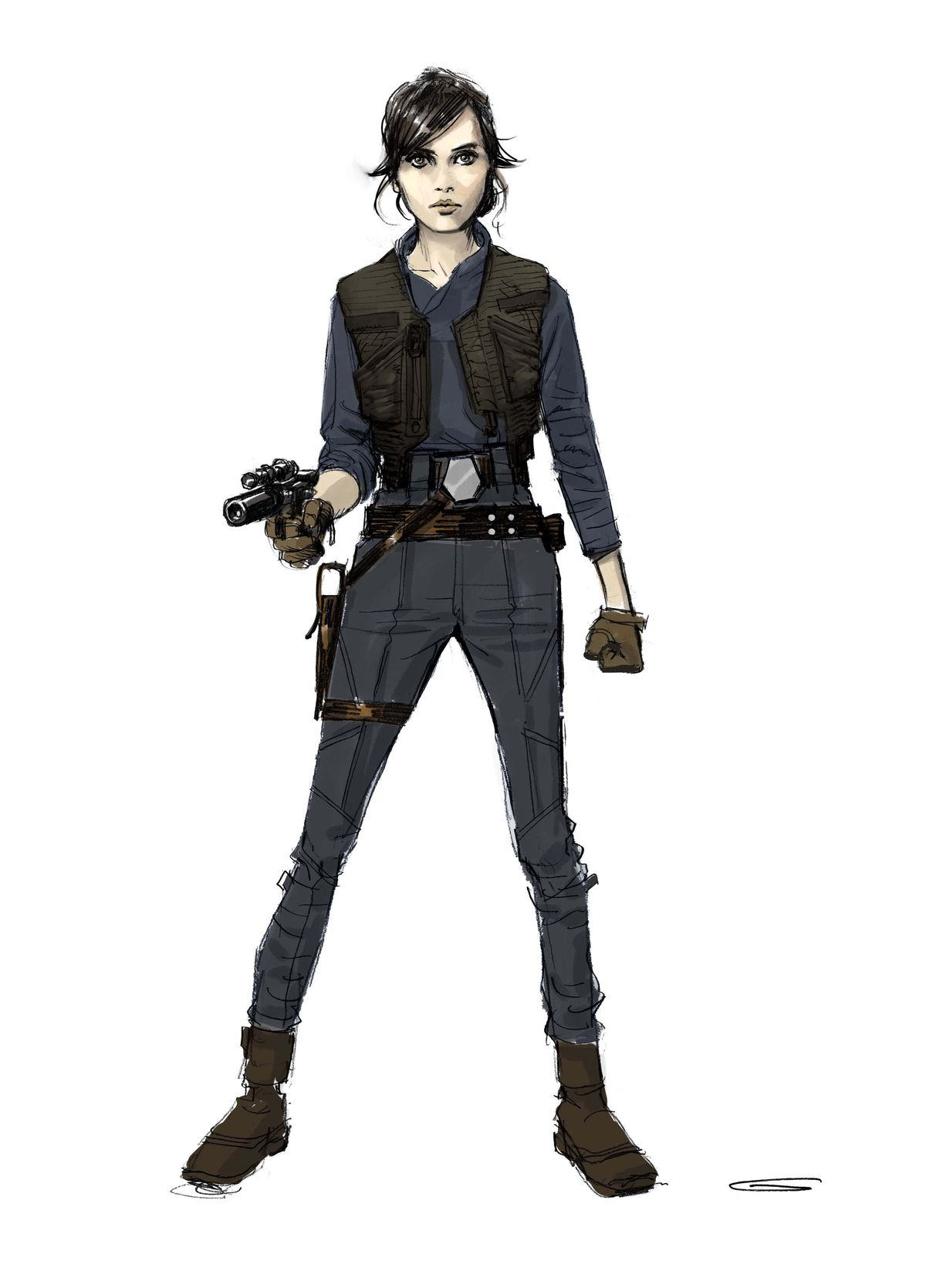 Jyn Hero Costume Version 1X