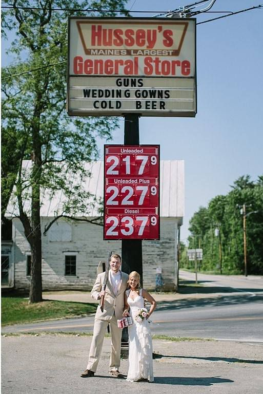 Guns, Wedding Gowns, Cold Beer - Racked