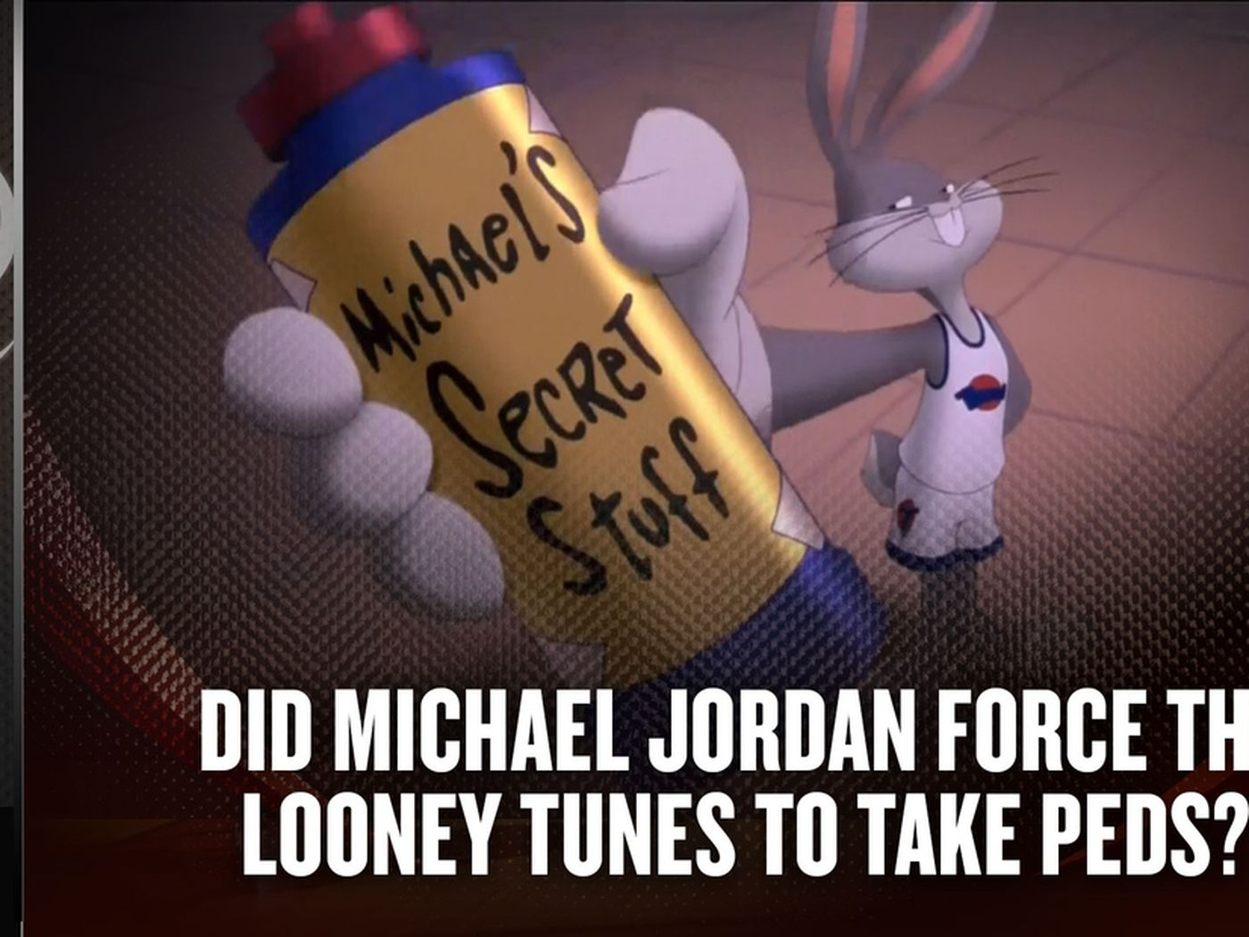 c9acc6ae85dc How Michael Jordan and the Looney Tunes won in Space Jam - SBNation.com