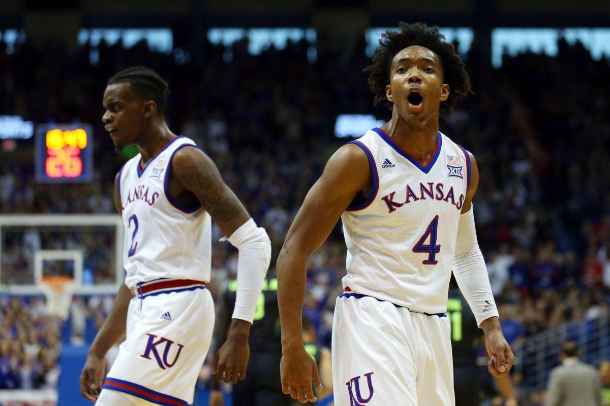 NCAA Basketball: Baylor at Kansas