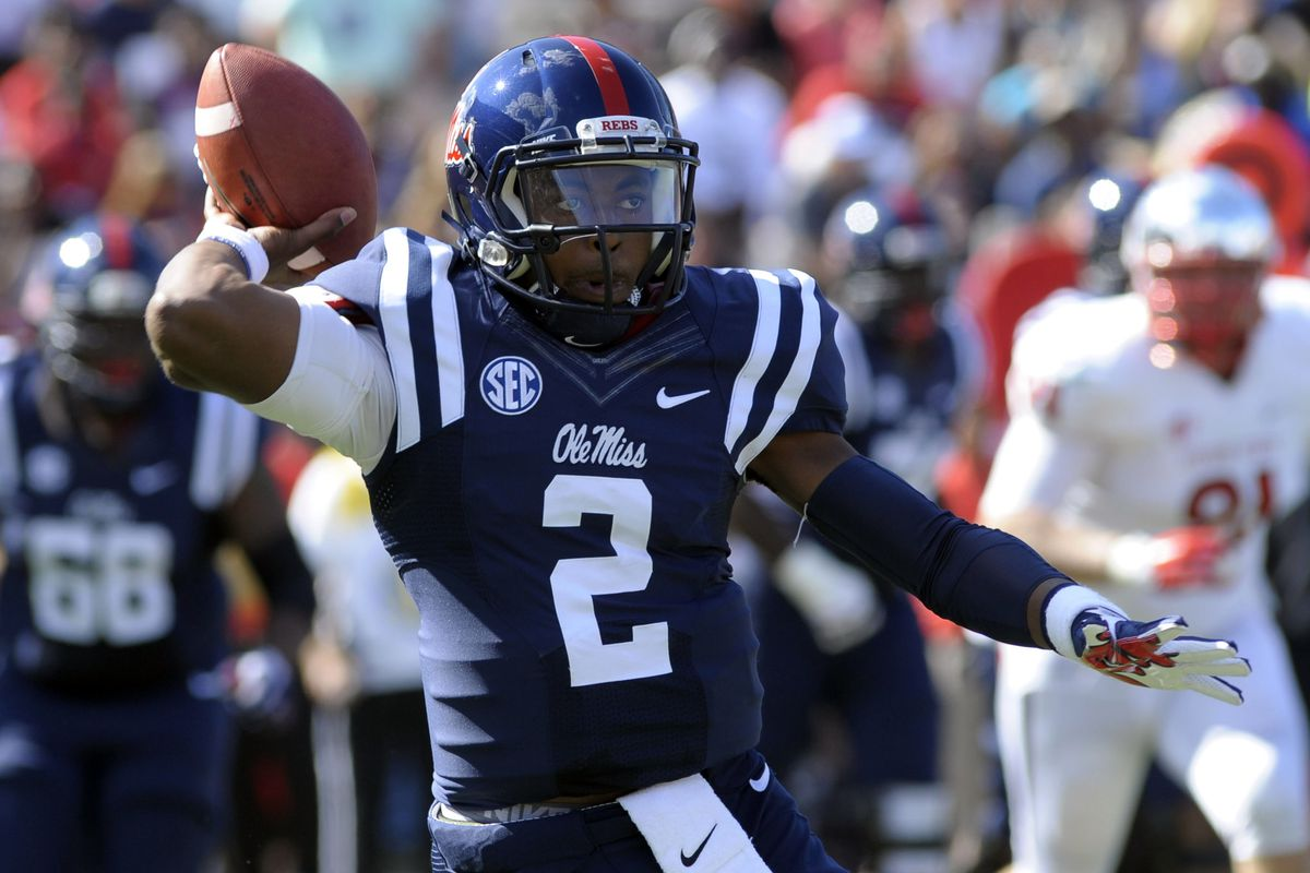 NCAA Football: Fresno State at Mississippi