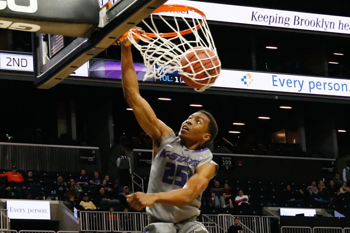 kansas state got a technical for dunking in warmups what