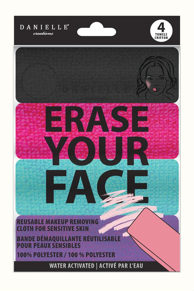 Erase Your Face washcloth pack
