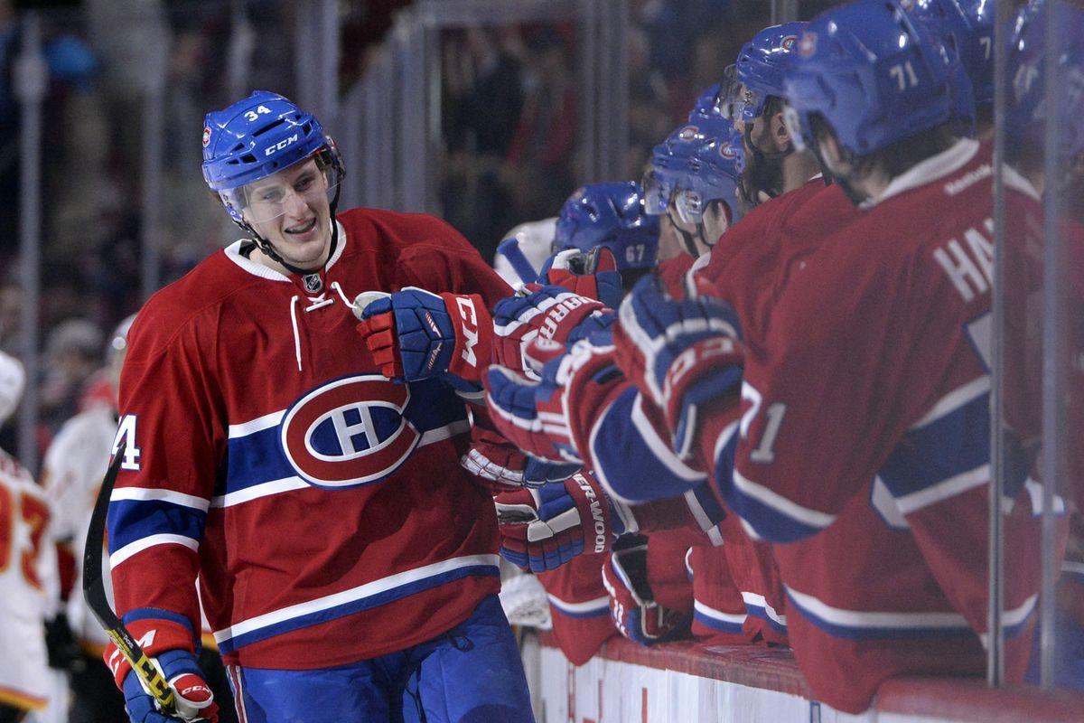 NHL: Calgary Flames at Montreal Canadiens
