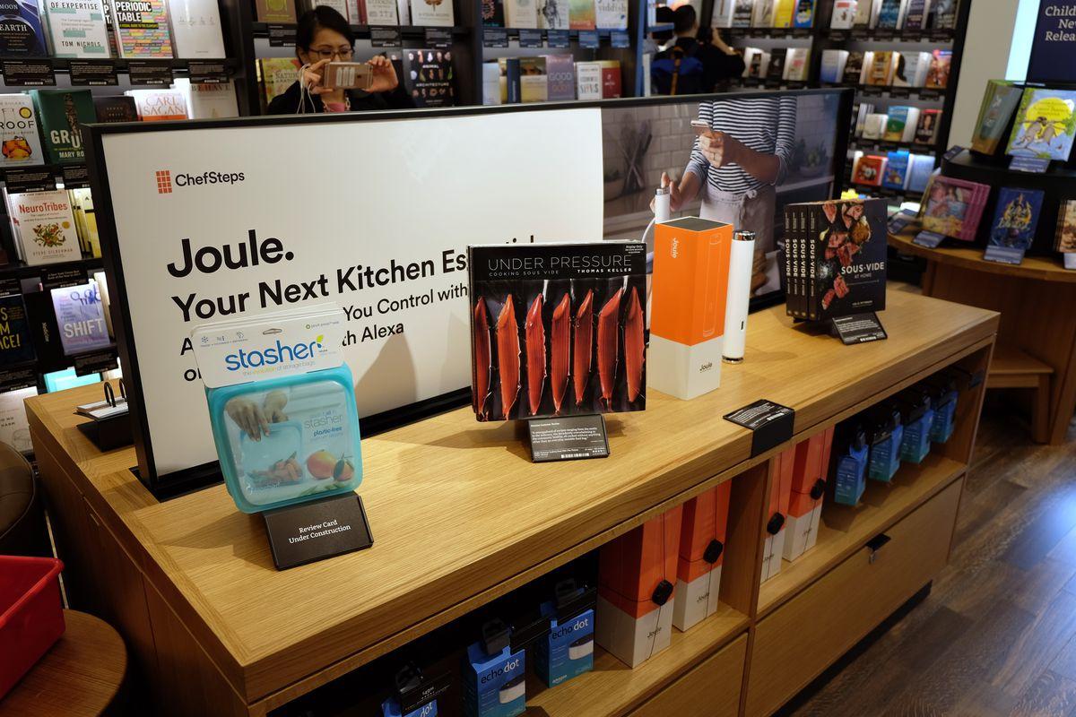Joule sous vide Amazon Books NYC