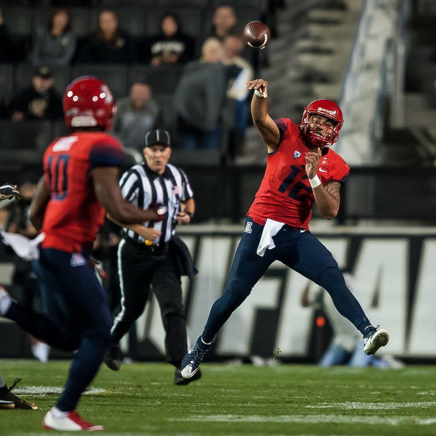 Jack Banda Arizona Wildcats Football Jersey - Red